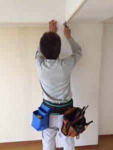 壁紙張替え工事