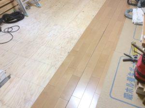 床板張替え工事